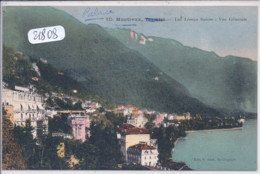VD- MONTREUX- LAC LEMAN- VUE GENERALE - VD Vaud