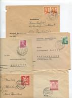 8367) 10 Belege Gesamtdeutschland - Poststempel - Freistempel