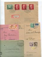 8505) 10 Belege Gesamtdeutschland - Poststempel - Freistempel