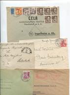 8452 10 Belege Gesamtdeutschland - Poststempel - Freistempel