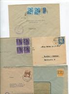 8453) 10 Belege Gesamtdeutschland - Poststempel - Freistempel