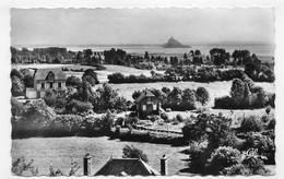 SAINT JEAN LE THOMAS EN 1964 - N° 27 - PANORAMA VERS LE MONT SAINT MICHEL - FORMAT CPA VOYAGEE - Other Municipalities