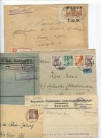 8622) 10 Belege Gesamtdeutschland - Poststempel - Freistempel