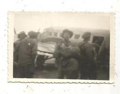 Photographie , Aviation, Avion  ,militaria , Militaire ,  HANOÏ , Indochine Française , 1949 , 90 X 60 Mm - Oorlog, Militair