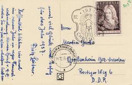 1956: Christkindl - Österreich Nach Grossenhain - Non Classificati