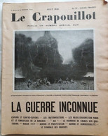 C1 14 18 CRAPOUILLOT La GUERRE INCONNUE 1930 Dorgeles BERAUD Gus Bofa NORTON CRU Port Compris France - Frans