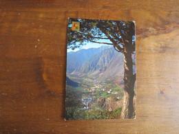 N°617 VALLS D'ANDORRA  - Vue Générale Des Escaldes Et Andorra La Vella - Andorre
