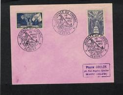 Journée Du Timbre 1951 BEAUNE - Wagon Postal. - 1950-1959
