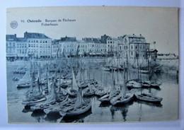 BELGIQUE - FLANDRE OCCIDENTALE - OSTENDE - Barques De Pêcheurs - 1928 - Oostende