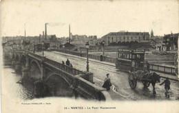 NANTES  Le Pont Haudaudine TRAM  LOUIT  Attelage RV - Nantes