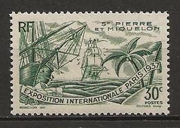 SAINT PIERRE Et MIQUELON 1937. N° 161 . Neuf  ** (MNH) - Unused Stamps