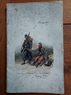 RARE LIVRET DE 48 PAGES L'ASSISTANCE AUX DEPOTS D'ECLOPES 03/1916 LE GENERAL DE LACROIX - 1914-18