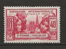 SAINT PIERRE Et MIQUELON 1937. N° 162 . Neuf  * (MH) . - Unused Stamps