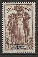 SAINT PIERRE Et MIQUELON 1937. N° 163 . Neuf  * (MH) . - Unused Stamps