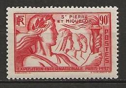 SAINT PIERRE Et MIQUELON 1937. N° 164 . Neuf  ** (MNH) - Unused Stamps