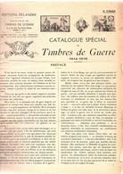 CATALOGUE DES TIMBRES DE GUERRE DELANDRE - Military Heritage