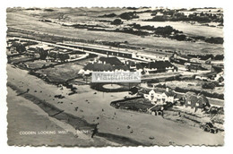 Cooden - Aerial View, Looking West - C1950's Sussex Real Photo Postcard - Altri