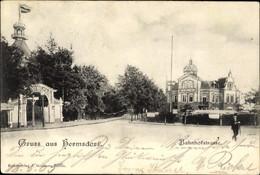 CPA Berlin Reinickendorf Hermsdorf, Bahnhofstraße - Sonstige