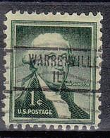 USA Precancel Vorausentwertungen Preos, Locals Illinois, Warrenville 734 - Precancels