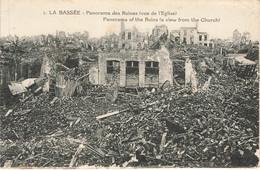 LA BASSEE : PANORAMA DES RUINES - Andere Gemeenten