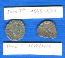 Lorraine  2  Pieces  Dans  L'etat - 476-1789 Monnaies Seigneuriales