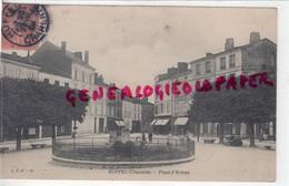 16- RUFFEC - PLACE D' ARMES  1906- CHARENTE - Ruffec