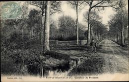 CPA Forêt De Sénart Essonne, Seine Et Marne, Carrefour Du President - Andere Gemeenten