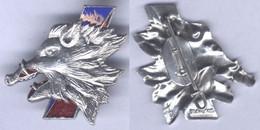Insigne De L'Escadron De Chasse 03-003 - Ardennes - Armée De L'air