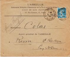 France, De Entrepot De Vichy En 1924, Jumelé Daguin  TB - Mechanical Postmarks (Other)