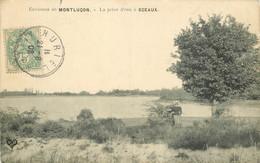 03 MONTLUCON. La Prise D'eau à Sceaux Avec Personnage 1908 - Montlucon