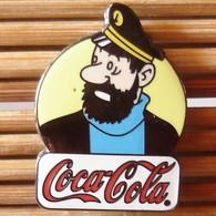 Joli Pin's BD Tintin Coca-Cola, émail Grand Feu, TBQ, Pins Pin. - Fumetti