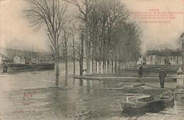 SENS : INONDATIONS DE 1910 - LE CLOS DU ROI - Sens