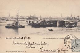 Ostende - Vue Générale Prise De L'ancienne  Ecluse - 1900 - Oostende