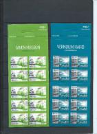 """Islande 2 Carnets C1422/1423 Oblitérés Complets Europa 2016 """"pensez Vert"""" - Booklets"""