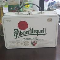 Ceska-pilsner Urquell-the Original Pilsner-BOXES-nikel(Hebrew Label-rite)-(alcohol-4.40%) (Capacity-2 Liter)-new Box - Beer