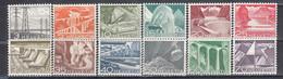 Switzerland 1949 - Landscapes And Technical Motives, Mi-Nr. 529/40, MNH** - Ungebraucht