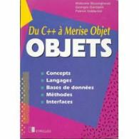 Du C++ à Merise Objet :Concepts Langages Bases De Données Méthodes Interfaces - Informatique