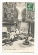 Cp , ALGERIE , Scénes Et Types , Métier , Tissage De Tapis ,  Voyagée 1914 - Métiers