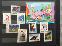 Andorra 2008  - Completo- Nuevo ** MNH - Unused Stamps