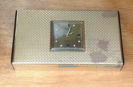 Horloge-réveil-boîte à Cigarettes Marque Lancel - Orologi Da Muro