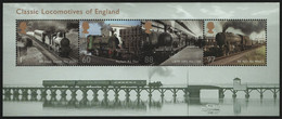 Großbritannien 2011 - Mi-Nr. Block 63 ** - MNH - Lokomotiven / Locomotives - Nuovi