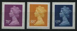 Großbritannien 2013 - Mi-Nr. 3436-3438 ** - MNH - Queen Elizabeth II - Ongebruikt