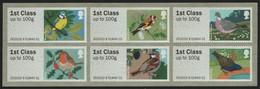 Großbritannien 2010 - Mi-Nr. ATM 3-8 ** - MNH - Vögel / Birds - Nuovi