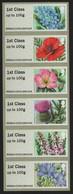 Großbritannien 2014 - Mi-Nr. ATM 71-76 ** - MNH - Blumen / Flowers - Ongebruikt