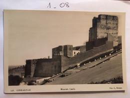Cp GIBRALTAR, Moorish Castle, Foto Roisin, Non écrite N° 138 - Gibraltar