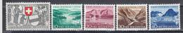 Switzerland 1952 - Pro Patria, Mi-Nr. 570/74, MNH** - Ungebraucht