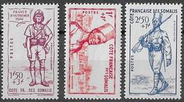 COTE Des SOMALIS N°188,189 Et 190 **  Neufs Sans Charnière Luxe MNH - Nuovi