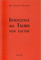 Iphigenie Auf Tauris Von Goethe - Other