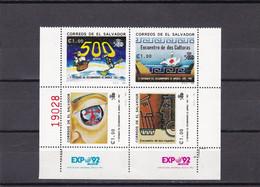 El Salvador Nº 1154A Al 1154D - Salvador