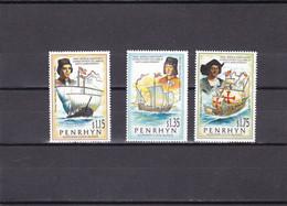 Penrhyn Nº 390 Al 392 - Penrhyn